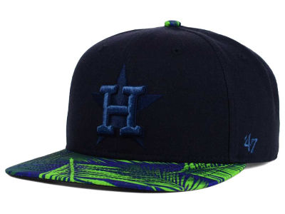Houston Astros '47 MLB '47 Tonal Flagler Snapback Cap