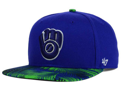 Milwaukee Brewers '47 MLB '47 Tonal Flagler Snapback Cap