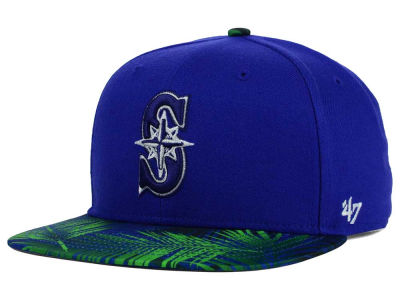 Seattle Mariners '47 MLB '47 Tonal Flagler Snapback Cap