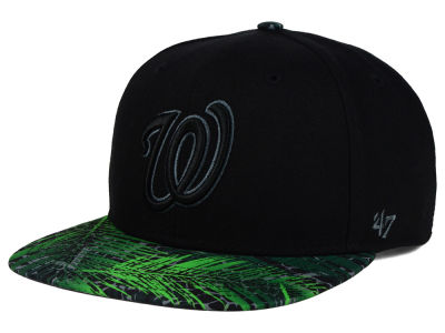 Washington Nationals '47 MLB '47 Tonal Flagler Snapback Cap