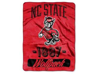 North Carolina State Wolfpack The Northwest Company Micro Raschel 46x60 Varsity