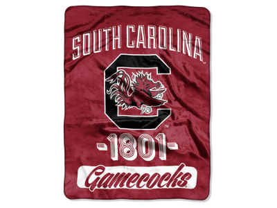 South Carolina Gamecocks Micro Raschel 46x60 Varsity