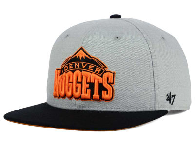 Denver Nuggets '47 NBA HWC '47 Wrist Shot Snapback Cap