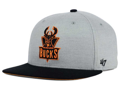 Milwaukee Bucks '47 NBA HWC '47 Wrist Shot Snapback Cap