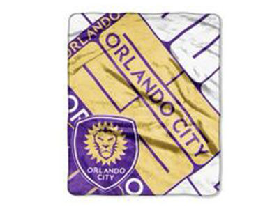 Orlando City SC 50x60in Plush Throw Blanket
