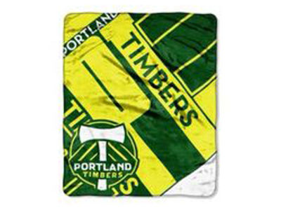 Portland Timbers 50x60in Plush Throw Blanket