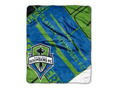 Seattle Sounders FC 50x60in Plush Throw Blanket