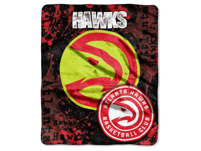 Atlanta Hawks 50x60in Plush Throw Blanket