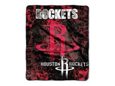 Houston Rockets 50x60in Plush Throw Blanket