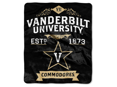Vanderbilt Commodores 50x60in Plush Throw Blanket