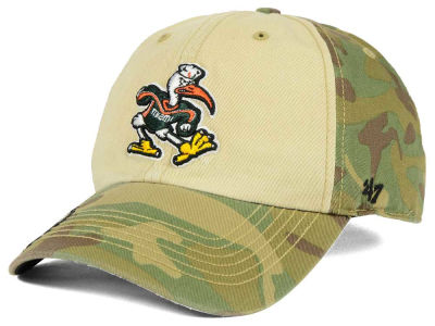 Miami Hurricanes '47 NCAA Operation Hat Trick Gordie '47 CLEAN UP Cap