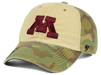 Minnesota Golden Gophers '47 NCAA Operation Hat Trick Gordie '47 CLEAN UP Cap
