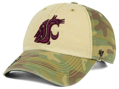 Washington State Cougars '47 NCAA Operation Hat Trick Gordie '47 CLEAN UP Cap