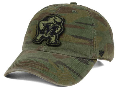 Maryland Terrapins '47 NCAA Operation Hat Trick Movement '47 CLEAN UP Cap