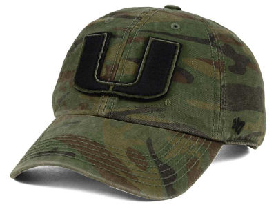 Miami Hurricanes '47 NCAA Operation Hat Trick Movement '47 CLEAN UP Cap