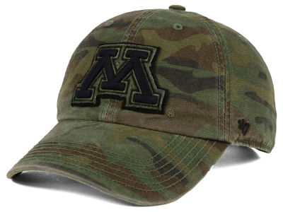 Minnesota Golden Gophers '47 NCAA Operation Hat Trick Movement '47 CLEAN UP Cap