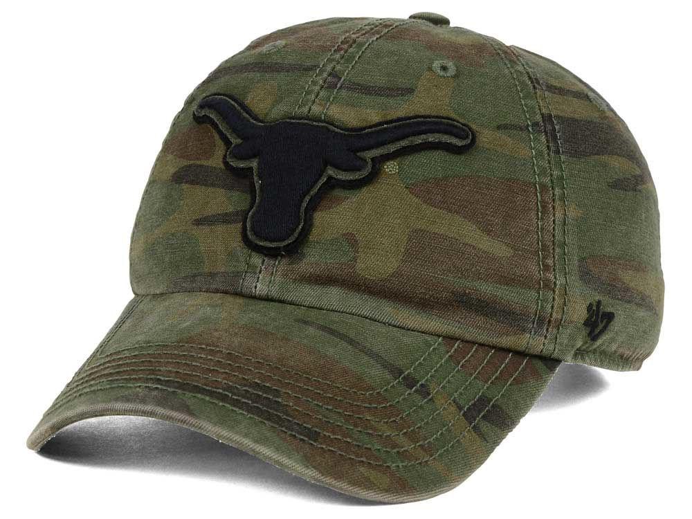 ec3dfd5d92e Texas Longhorns  47 NCAA Operation Hat Trick Movement  47 CLEAN UP Cap