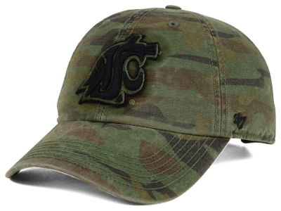 Washington State Cougars '47 NCAA Operation Hat Trick Movement '47 CLEAN UP Cap