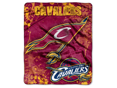 Cleveland Cavaliers 50x60in Plush Throw Drop Down