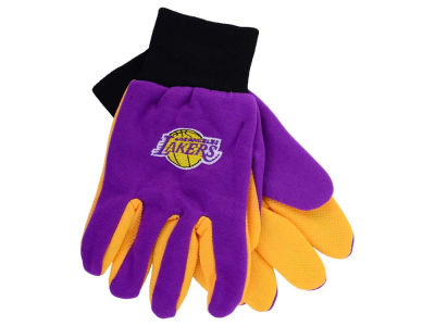Los Angeles Lakers Team Color Palm Gloves