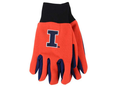 Illinois Fighting Illini Team Color Palm Gloves