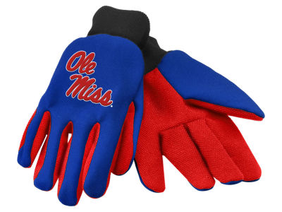 Ole Miss Rebels Team Color Palm Gloves