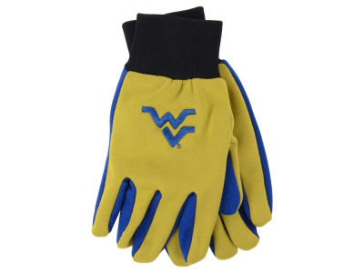 West Virginia Mountaineers Team Color Palm Gloves
