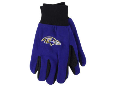 Baltimore Ravens Team Color Palm Gloves