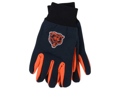 Chicago Bears Team Color Palm Gloves