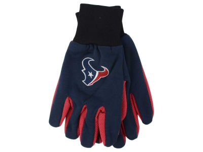 Houston Texans Team Color Palm Gloves