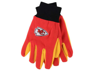 Kansas City Chiefs Forever Collectibles Team Color Palm Gloves
