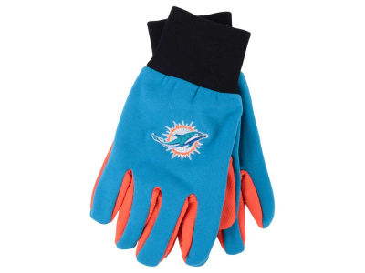 Miami Dolphins Team Color Palm Gloves