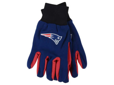 New England Patriots Team Color Palm Gloves