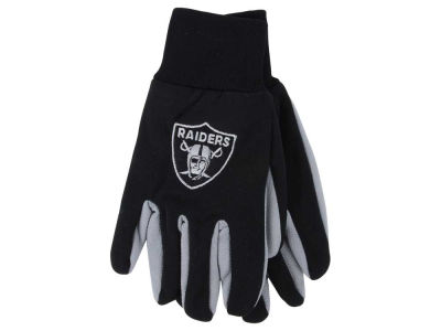 Oakland Raiders Team Color Palm Gloves