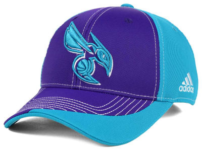 Charlotte Hornets adidas NBA Dribble Series Adjustable Cap