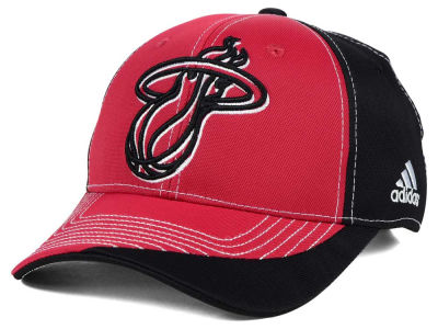 Miami Heat adidas NBA Dribble Series Adjustable Cap