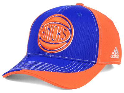 New York Knicks adidas NBA Dribble Series Adjustable Cap