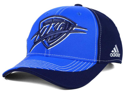 Oklahoma City Thunder adidas NBA Dribble Series Adjustable Cap