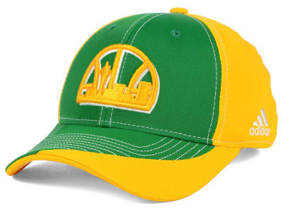 Seattle SuperSonics adidas NBA Dribble Series Adjustable Cap
