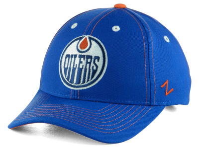 Edmonton Oilers Zephyr NHL Staple Adjustable Hat