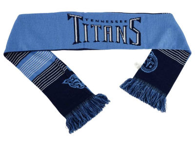 Tennessee Titans Acrylic Knit Scarf Reversible Split Logo