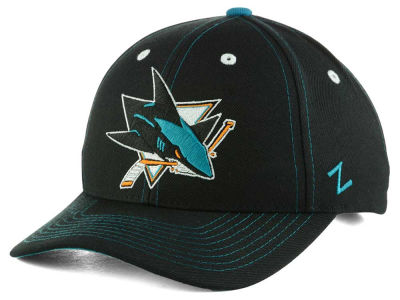 San Jose Sharks Zephyr NHL Staple Adjustable Hat