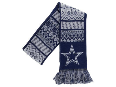 Dallas Cowboys Ugly Sweater Acrylic Reversible Scarf