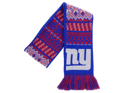 New York Giants Ugly Sweater Acrylic Reversible Scarf