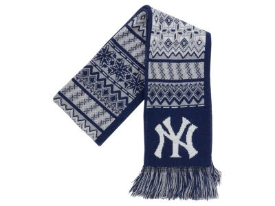 New York Yankees Ugly Sweater Acrylic Reversible Scarf
