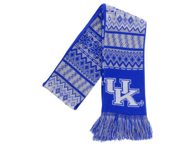 Kentucky Wildcats Ugly Sweater Acrylic Reversible Scarf