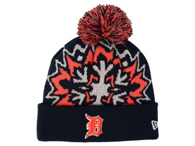Detroit Tigers New Era MLB Glowflake 2.0 Knit
