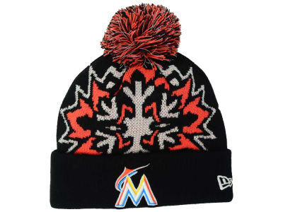 Miami Marlins New Era MLB Glowflake 2.0 Knit