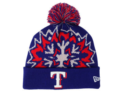 Texas Rangers New Era MLB Glowflake 2.0 Knit