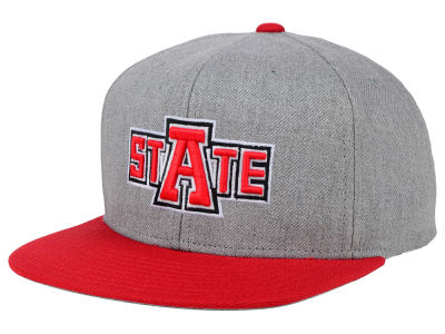 Arkansas State Red Wolves adidas NCAA Stacked Box Snapback Cap